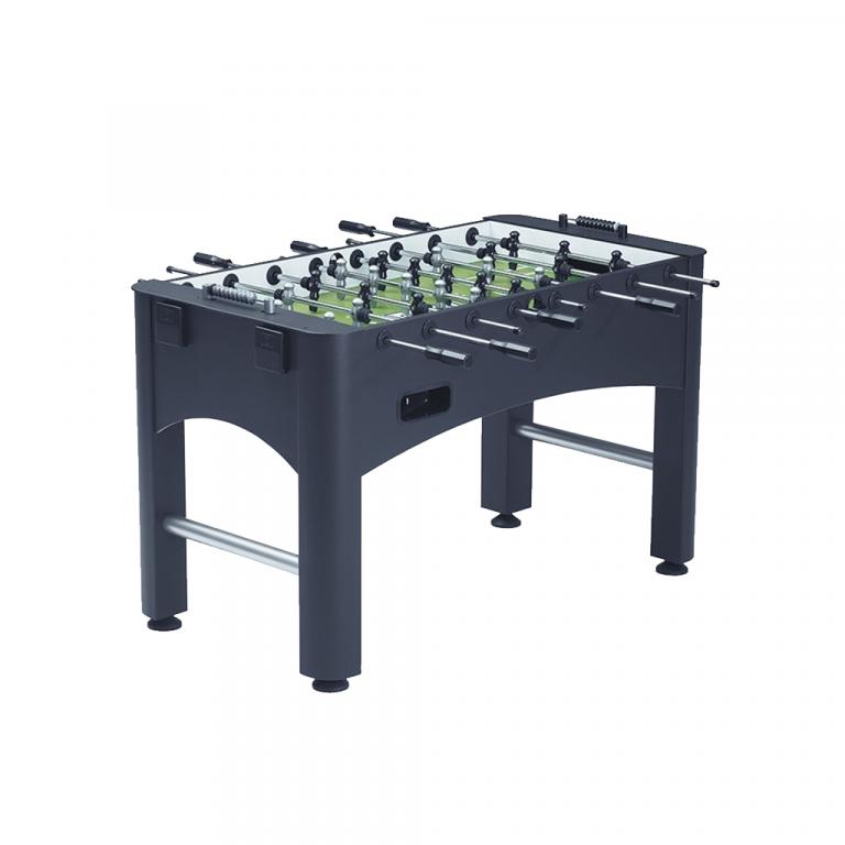 Small grey foosball table